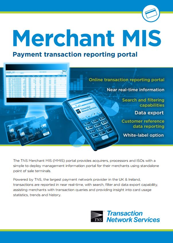 TNS Merchant MIS (MMIS) Information Sheet