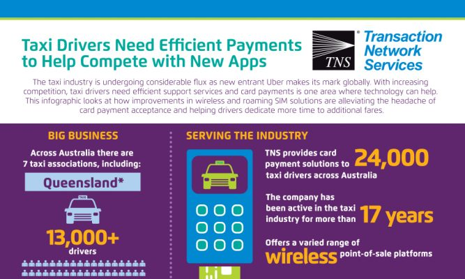 Taxi Drivers Need Efficient Payments to Help Compete with New Apps
