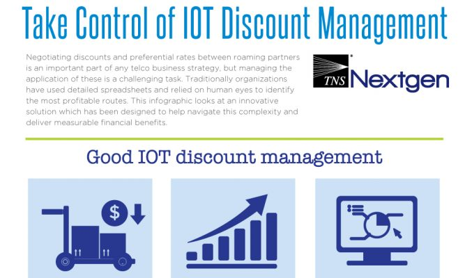 Take Control of IOT Discount Management