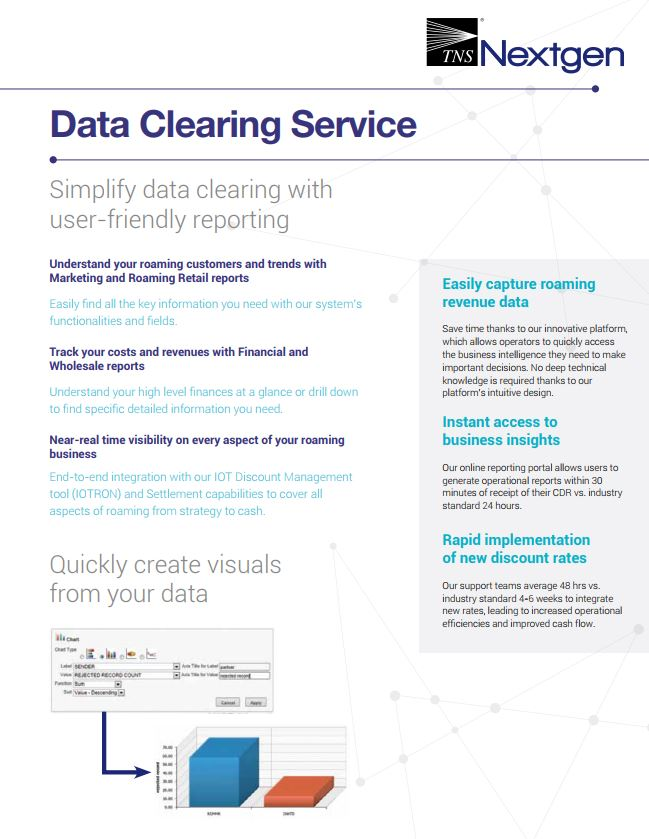 Data Clearing House (DCH) Information Sheet