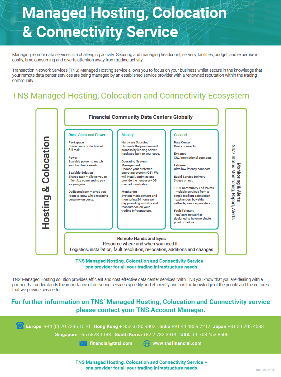 Managed Hosting Information Sheet