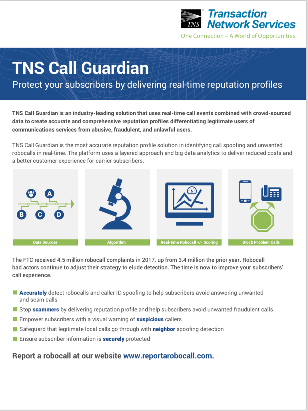 Call Guardian Information Sheet
