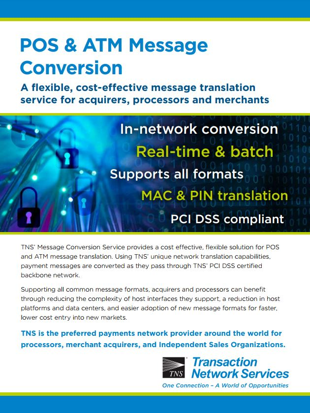 Message Conversion Information Sheet