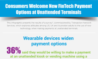 Consumers Welcome New FinTech Payment Options at Unattended Terminals