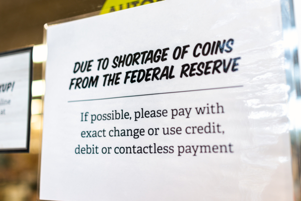 Electronic Payments Could Accelerate with US Coin Shortage